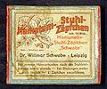 Hametum Stuhl Zäpfchen, Dr Willmar Schwabe - Leipzig.JPG