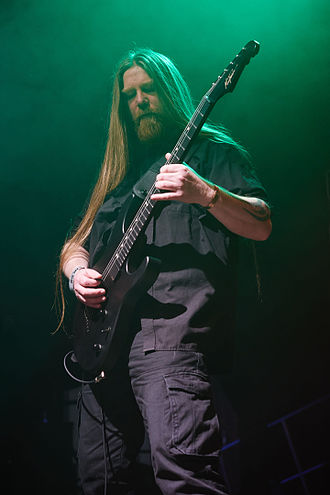 Andrew Craighan - Image: Hammer of Doom X Würzburg My Dying Bride 4