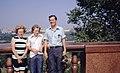 Hammond Slides Moscow 56. Hammond family at Sparrow Hills.jpg