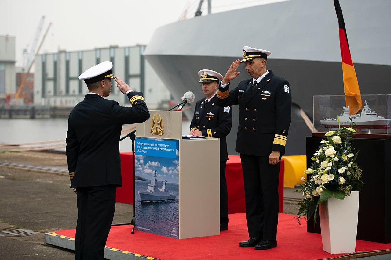 Handing over ceremony of the first INS Magen, November 2020. III.jpg
