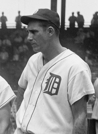 1986 in baseball - Image: Hank Greenberg 1937 cropped