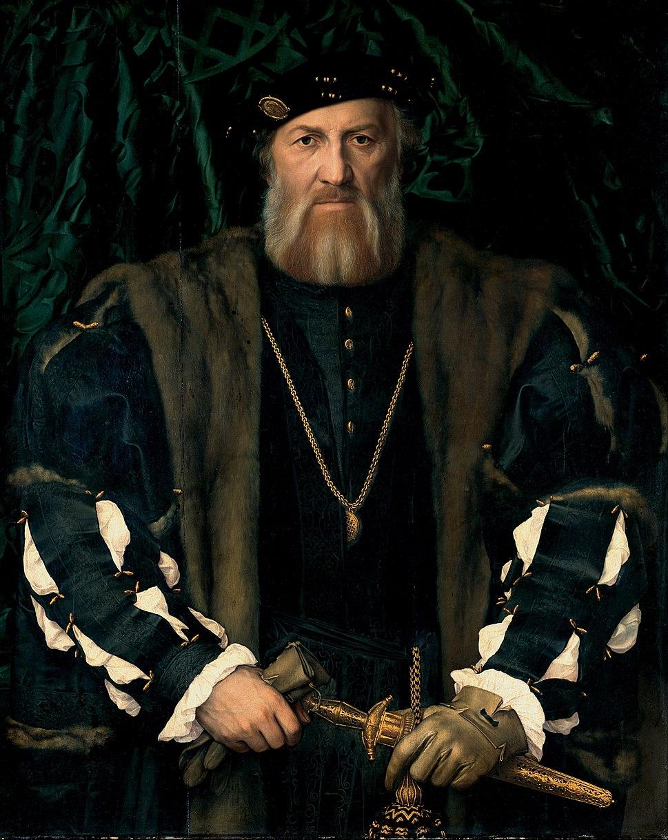 Hans Holbein the Younger - Charles de Solier, Sieur de Morette - Google Art Project