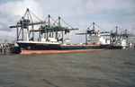 Hapag-Lloyd container ship Sydney Express in the Port of Melbourne - 1987.png