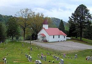 The Chilhowee Primitive Baptist Church, nickna...