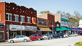 Harrison, Arkansas - Historic downtown Harrison