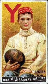 American football card