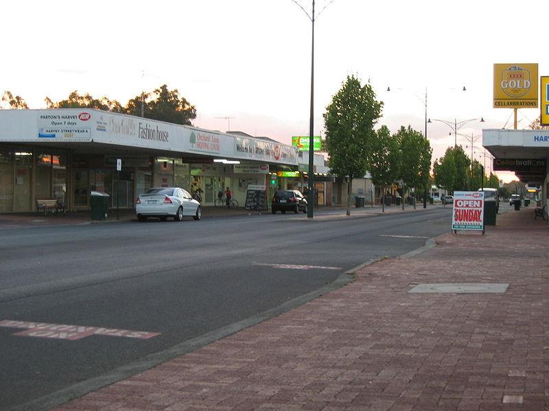 File:Harvey Western Australia Street.jpg