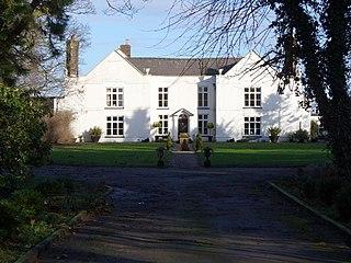 Hassall farm village in the United Kingdom
