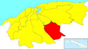 Cotorro - Image: Havana Map Cotorro