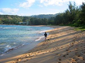 Hawaii, Kauai, Moloaa Beach