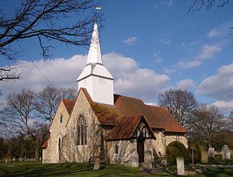 Hawkwell - Image: Hawkwell, Essex St.Marys Church