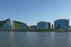 Tempe, Arizona - Hayden Ferry Lakeside development on the north end of Downtown Tempe