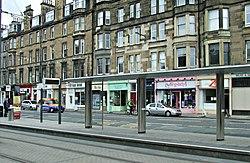 Haymarket tram stop (geograph 4017625).jpg