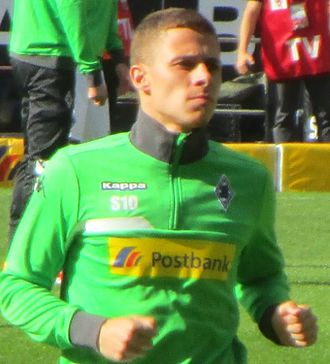 Thorgan Hazard - Hazard with Mönchengladbach in 2015