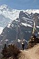 Heather, mani wall - High route trail near Ghyaru (greg-willis.com) - panoramio.jpg