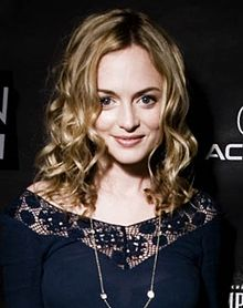 L'actriz Heather Graham en 2009.