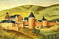 Heidelberger Schloss im 16 Jh aus Thesaurus Pictuarum.jpg
