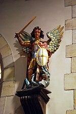 Hekelgem Sint-Michiel beeld Sint-Michiel.jpg