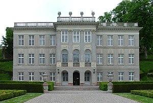 Marienlyst Castle - Main façade of Marienlyst Castle