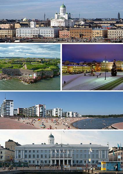 La capital de Finlandia: Helsinki