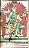 Henry I in a 13th century miniature