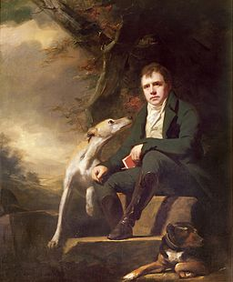 Henry Raeburn - Portrait of Sir Walter Scott and his dogs
