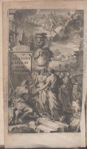 Hesiodi Ascraei quaecumque exstant, 1701