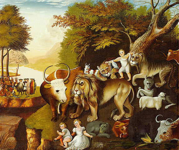 Peaceable Kingdom_Edward Hicks