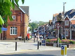 Cobham, Surrey Village in the Borough of Elmbridge in Surrey, England