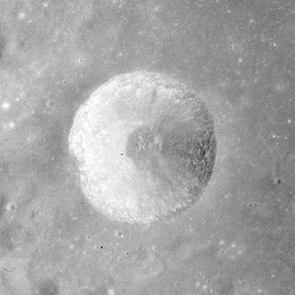 Hill (crater) - Apollo 15 image