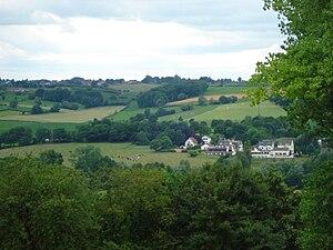 Gulpen-Wittem - Hilly landscape near Slenaken