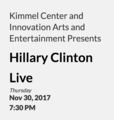 Hillary Clinton Live Kimmel Center.png