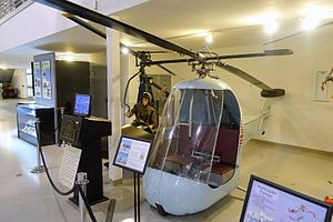 Hiller YH-32 Hornet - On display at the Hiller Aviation Museum