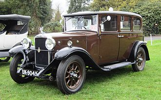 Rootes Group - Hillman 14, 1930