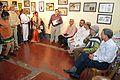 Himadri Sekhar Dutta - Addressing - Opening Ceremony - Atanu Ghosh Solo Exhibition - Kolkata 2013-12-05 4635.JPG