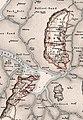 Historische Karte von den Nordfriesischen Inseln - Franz Geerz 1888-2 (cropped Rømø Listland Jordsand).jpg