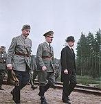 Hitler visit Finland 1942 Recolored.jpg