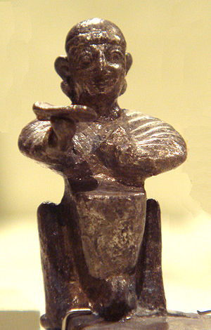 Hittite mythology and religion - Seated deity, late Hittite Empire (13th century BC)