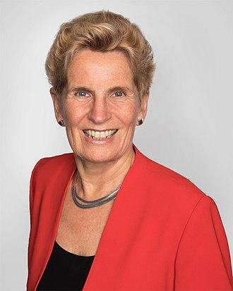 Kathleen Wynne - Image: Hon Kathleen Wynne MPP Premier of Ontario
