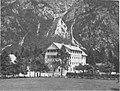 Hotel »Zlatorog« ob Bohinjskem jezeru prezidan in povečan 1938.jpg