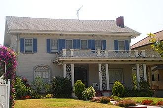South Serrano Avenue Historic District - Image: House at 408 S. Serrano Avenue