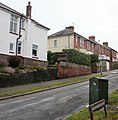 Houses on the east side of Brecon Road, St Julians, Newport - geograph.org.uk - 1725508.jpg