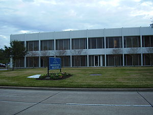 George Bush Intercontinental Airport - The Houston Airport System Administration Building is located on the airport grounds