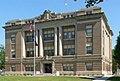 Howard County, Nebraska courthouse from SE 2.JPG