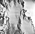 Hugh Miller Glacier, icefield and glacial remnents, August 24, 1963 (GLACIERS 5480).jpg