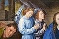Hugo van der Goes, adorazione dei pastori tra due profeti, 1480 ca. 09.JPG