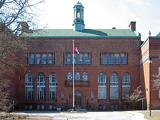 Humberside Collegiate Institute High school in High Park North, Toronto, Ontario, Canada