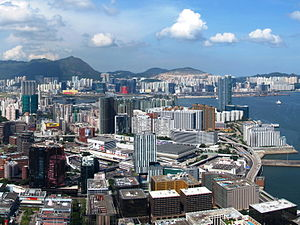 Hung Hom - Hung Hom viewed from the west.