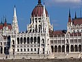 Hungarian Parliament Building from across the Danube, 2013 Budapest (489) (13226830403).jpg