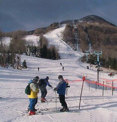 Hunter Mountain ski area